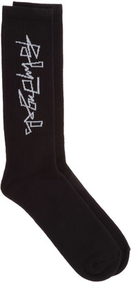 Palm Angels Desert Logo Socks