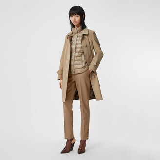 Burberry Reversible Cotton and Vintage Check Car Coat