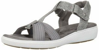 Grasshoppers Women's Ruby T-Strap Sandal Chambray