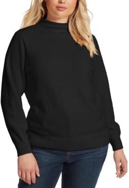 Jessica Simpson Trendy Plus Size Saskia Sweater