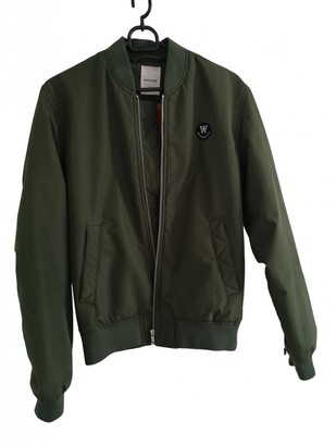 Wood Wood Green Jacket for Women