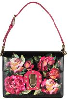 Dolce & Gabbana lucia Shoulder Bag With Printed Rose