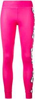 adidas by Stella McCartney floral print leggings - women - Polyester/Spandex/Elastane - XS