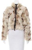 Marni Cropped Fur Jacket