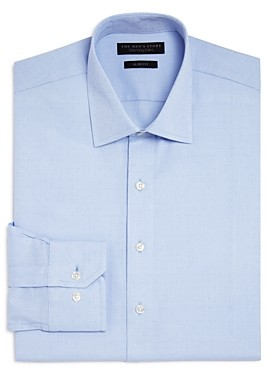 The Men's Store at Bloomingdale's Textured Dot Slim Fit Dress Shirt - 100% Exclusive