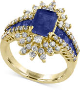 Effy Royalé Blue by Sapphire (2-1/2 ct. t.w.) and Diamond (3/4 ct. t.w.) Ring in 14k Gold