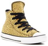Converse Chuck Taylor Leopard High Top Sneaker (Little Kid)