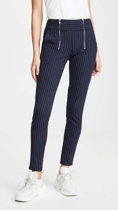 Scotch & Soda High Rise Skinny Zip Detail Pants