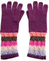 Missoni Wool-Blend Knit Gloves