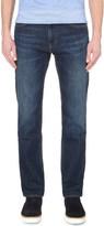 HUGO BOSS Leisure regular-fit mid-rise jeans