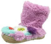 Hatley Girls' Lbh Kids Owls Hi-Top Slippers,XL Child UK