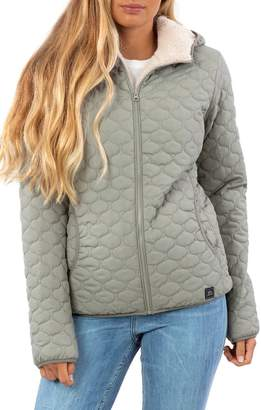 Rip Curl Anoeta II Anti Series Water Repellent Quilted Jacket