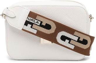 Furla Zip-Up Leather Crossbody Bag