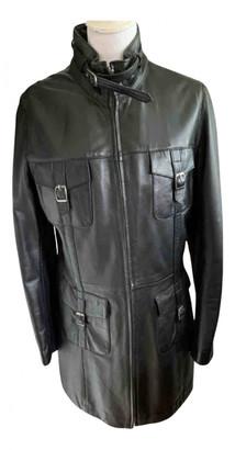 Oakwood Black Leather Coats