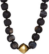 Nest Black Agate Drusy Necklace
