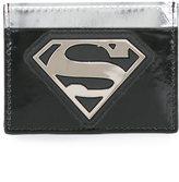 Philipp Plein Superman logo cardholder