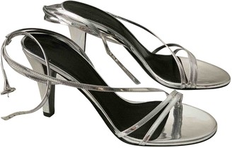 Isabel Marant Silver Patent leather Sandals