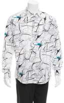 Hermes Harnais et Filets Button-Up Shirt