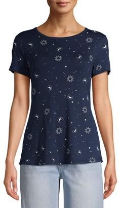 No Boundaries Juniors' Printed T-Shirt
