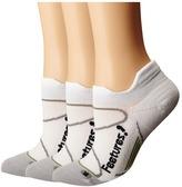 Feetures - Elite Light Cushion No Show Tab 3-Pair Pack No Show Socks Shoes