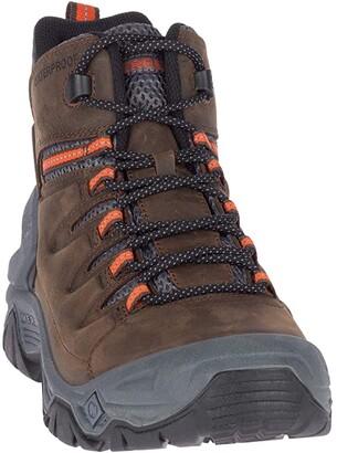 Merrell Strongbound Peak Mid Waterproof (Espresso/Rock) Men's Boots