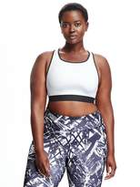 Old Navy Medium Support Racerback Plus Size Sports Bra