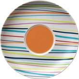 Thomas Laboratories Thomas' Sunny Day Saucer for Cappuccino Cup 380ml, Porcelain, Sunny Stripes, Dishwasher Safe, 16.5 cm, 14671