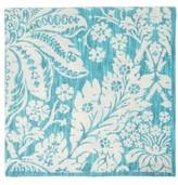 D'Ascoli Set Of Four Garden Floral-print Cotton Napkins - Blue Multi
