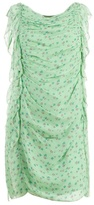 3.1 Phillip Lim Floral ruched shift dress