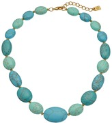 Lauren Ralph Lauren Paradise Found 18 Turquoise Nugget Bead Necklace Necklace