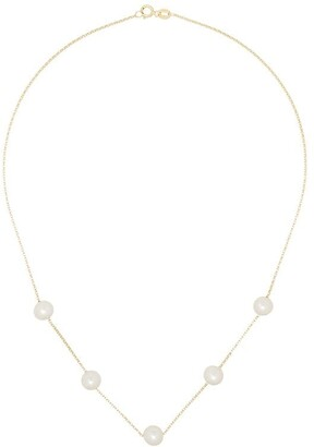 Anissa Kermiche 14kt Yellow Gold Pearl Necklace