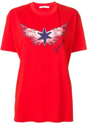 Givenchy Star Flame printed T-shirt
