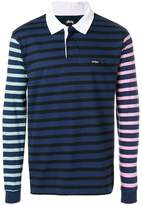Stussy long sleeved polo shirt
