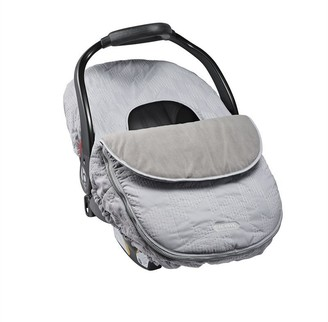Jj Cole Collections JJ Cole Car Seat Cover Grey Herringbone