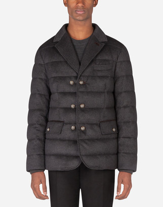 Dolce & Gabbana Quilted Cashmere Jacket