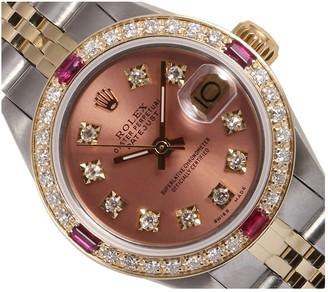 Rolex Lady DateJust 26mm Orange Steel Watches