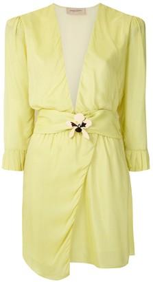Adriana Degreas Embellished Short Dress