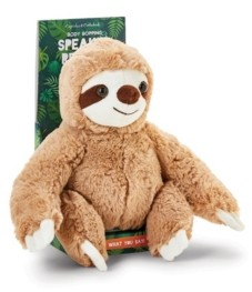 Twos Company Two's Company Plush Sloth with Speak - Repeat