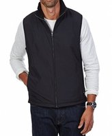 Nautica Men's Mixed Media Fleece Full Zip Vest