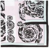 Versace baroque spiral scarf