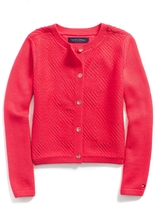Tommy Hilfiger Mixed Knit Cardigan