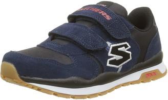 Skechers Throwbax 97360-nvbk Boy's Low-Top Sneakers