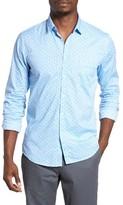 BOSS ORANGE Men's Eglam Dot Print Sport Shirt