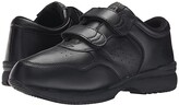 Propet Life Walker Strap Medicare/HCPCS Code = A5500 Diabetic Shoe (Black) Men's Hook and Loop Shoes
