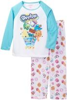 Shopkins Heroes Raglan Jersey Top & Pant PJ Set (Little Girls & Big Girls)