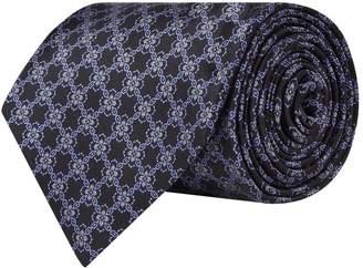 Stefano Ricci Silk Lattice Print Tie