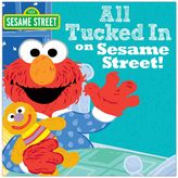 Sesame Street All Tucked In On Book