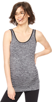 Motherhood Side Ruched Seamless Maternity Tank Top