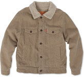 Levi's Boys' Lined Denim Trucker Jacket