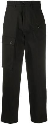 DEPARTMENT 5 High-Waisted Multi Pocket Trousers
